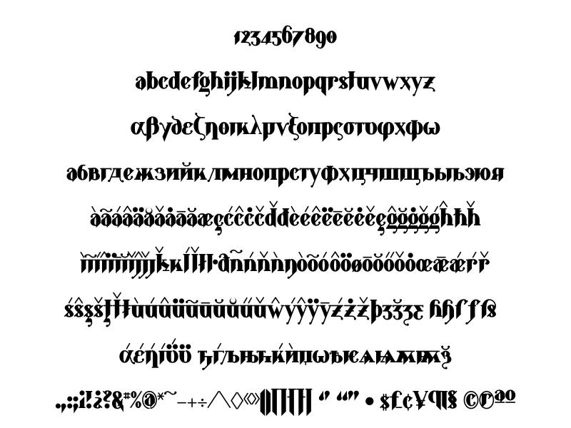 Glyphobet Font Foundry